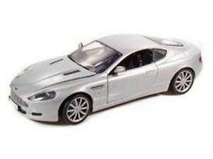 MOTOR-MAX-73174R-73174S-ASTON-MARTIN-DB9-COUPE-model-cars-red-silver-1-18th