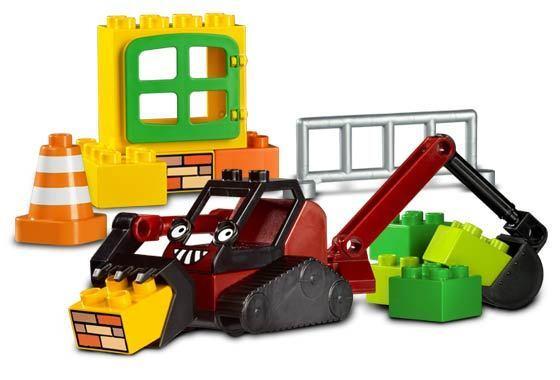 LEGO 3293 - DUPLO  Bob The Builder - - - Benny's Dig Set - 2005 - NO BOX 66373b