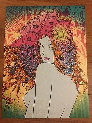 """CHUCK SPERRY """"MUSIC"""" ART PRINT 100% AUTHENTIC REMOVED FROM HELIKON BOOK POSTER!"""
