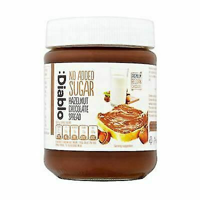 12x Diablo No Added Sugar Hazelnut Chocolate Spread 350g For Sale Online Ebay