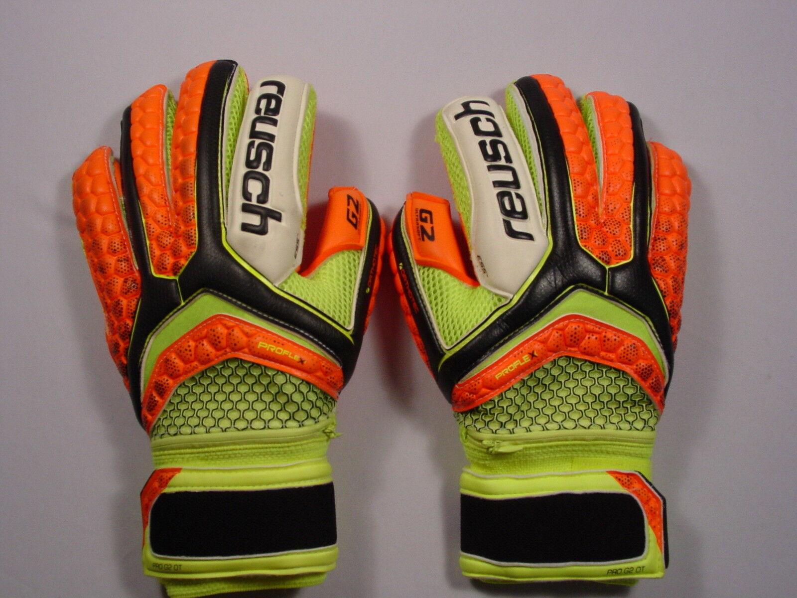 Reusch Fußball Torwarthandschuhe Puls pro G2 Ortho Ortho Ortho Tec Finger Streben 3670100s efbd89
