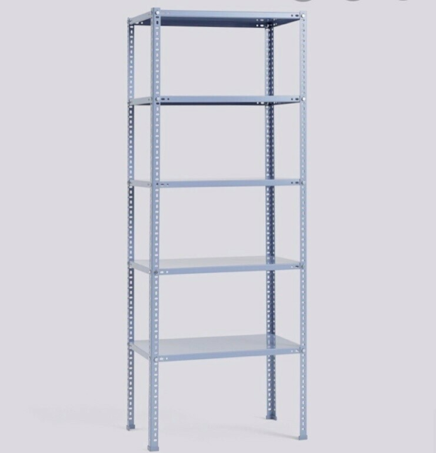 Reol, HAY, HAY Shelving Unit - Dusty Blue.  L: 75 D: 43 H:…