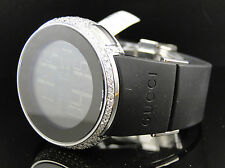 Brand New Mens 5 Row I Gucci Digital White Diamond Watch 6 Ct YA114202