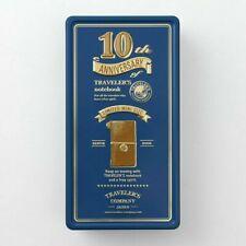 Travelers Factory Midori Travelers Notebook Mini 10th Anniversary Can Set Blue