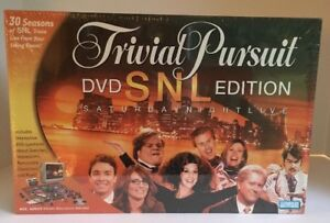 Trivial-Pursuit-Saturday-Night-Live-SNL-DVD-Edition-Board-Game-NIB