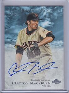 CLAYTON-BLACKBURN-2013-Bowman-Inception-Prospect-Blue-Autograph-42-75-B6710