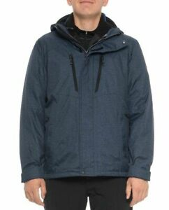 New Mens Zeroxposur Xl Cobra Navy Static System Jacket