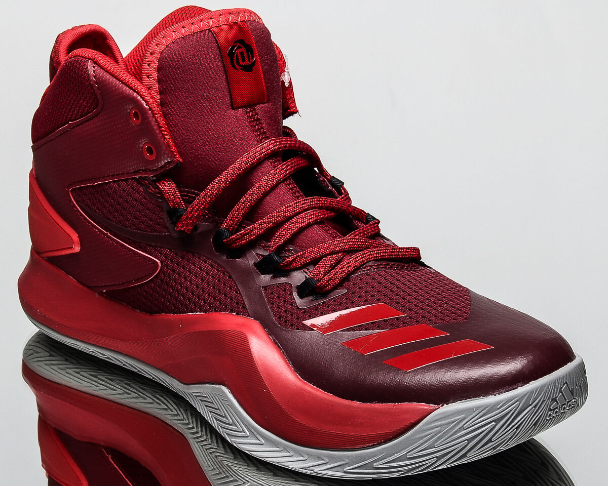 adidas D Rose Dominate IV 4 men basketball sneakers NEW burgundy red BB8179