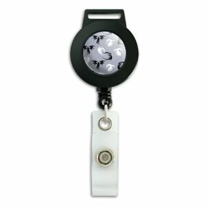 Black-and-White-Dragons-Pattern-Lanyard-Retractable-Reel-Badge-ID-Card-Holder