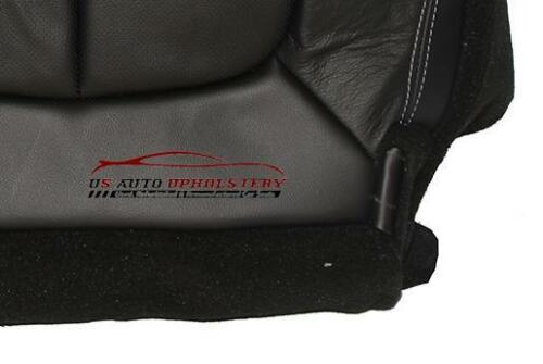 2011 Ford F150 Lariat XLT FX4 Driver Bottom Perforated Leather Seat Cover Black