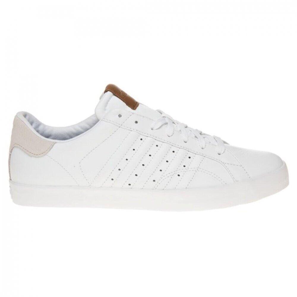 Uomini 65533;s K Swiss Belmont Leather bianca  Bone.Scarpe  da trainer.Dimensione 11  all'ingrosso a buon mercato