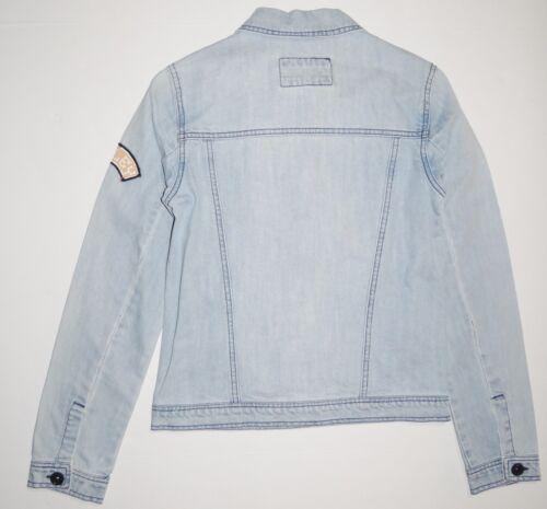 modello bottoni Small Giacca con in denim Blue leggero Hurley da donna 8Sq5CSxn