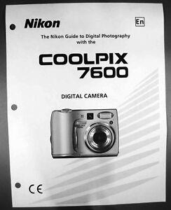 nikon coolpix 5700 digital camera user guide instruction manual ebay rh ebay com nikon coolpix p900 user manual nikon coolpix user's guide
