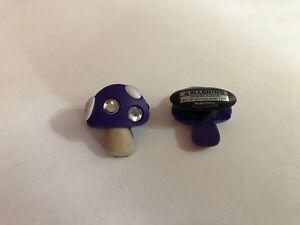 Purple-Bling-Mushroom-Shoe-Doodle-Rubber-Shoes-or-Crocs-Shoe-Charm-PSC1117