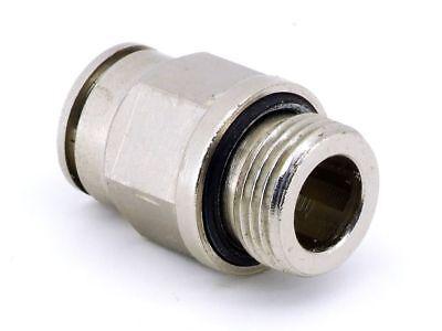 Pneumatik Steckverschraubung Ø12mm Sw18 Druckluft Adapter G3/8 Connector Fitting Und Verdauung Hilft