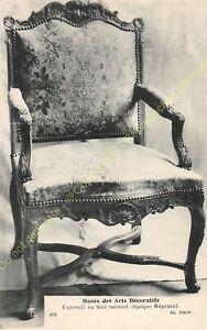 Postcard-Arts-Decorative-Chair-Furniture-Period-Regency-Edit-ND-425
