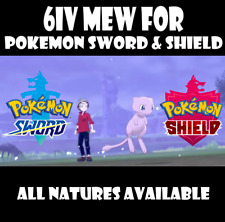 Pokemon Sword and Shield Pokeball Plus 6IV Mew (SHINY ALSO AVAILABLE)