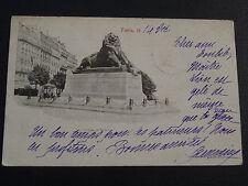 CPA 1899 PARIS LE LION DE BELFORT