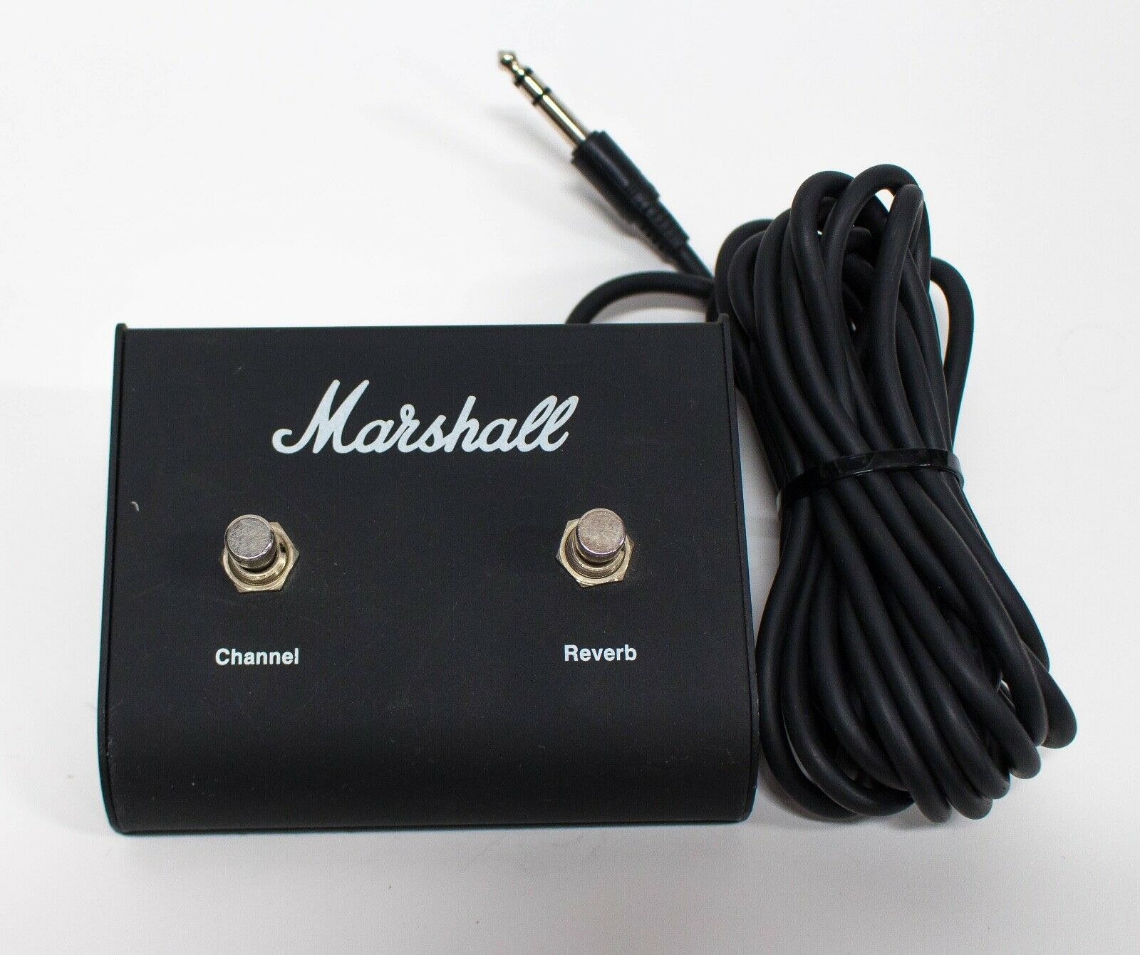 Original Marshall Footswitch Two Button Channel & Reverb Pedal