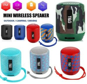 Portable Bluetooth Wireless Speaker Loud Super Bass Stereo Rechargeable FM Radio