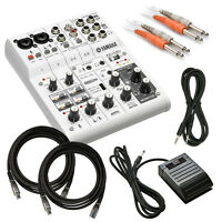 Yamaha Ag06 Six Channel Mixer And Usb Audio Interface Cable Kit on sale