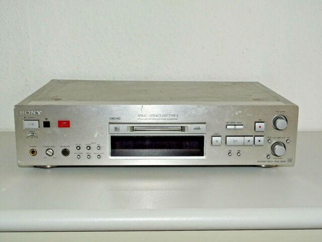 Sony MDS-JB980 High-End MiniDisc Recorder, Laser & Riemen NEU, 2J. Garantie