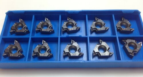 5 x ISCAR 16IR M AG 55 IC908 Threading Carbide inserts Cnc Lathe 16 IR 3IR 16IRM