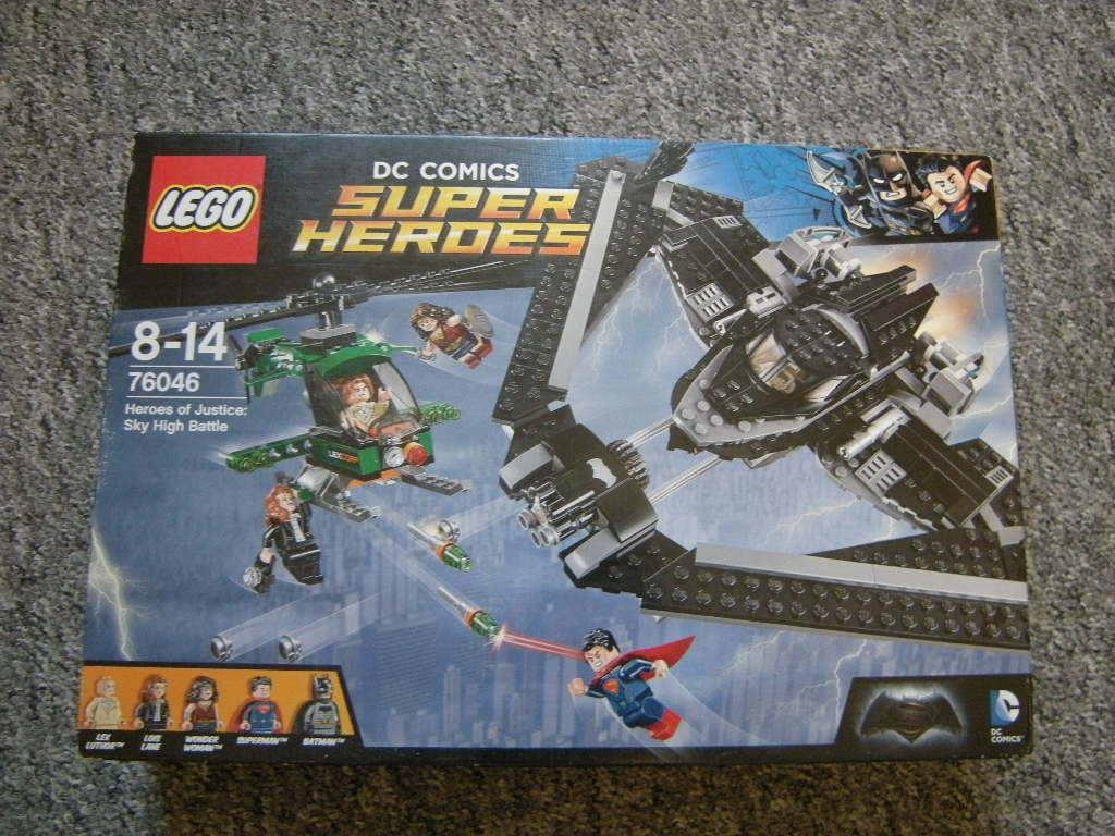 Lego DC serier Super Heroes of Justice Sky High slåss 8 -14 Jahre OVP