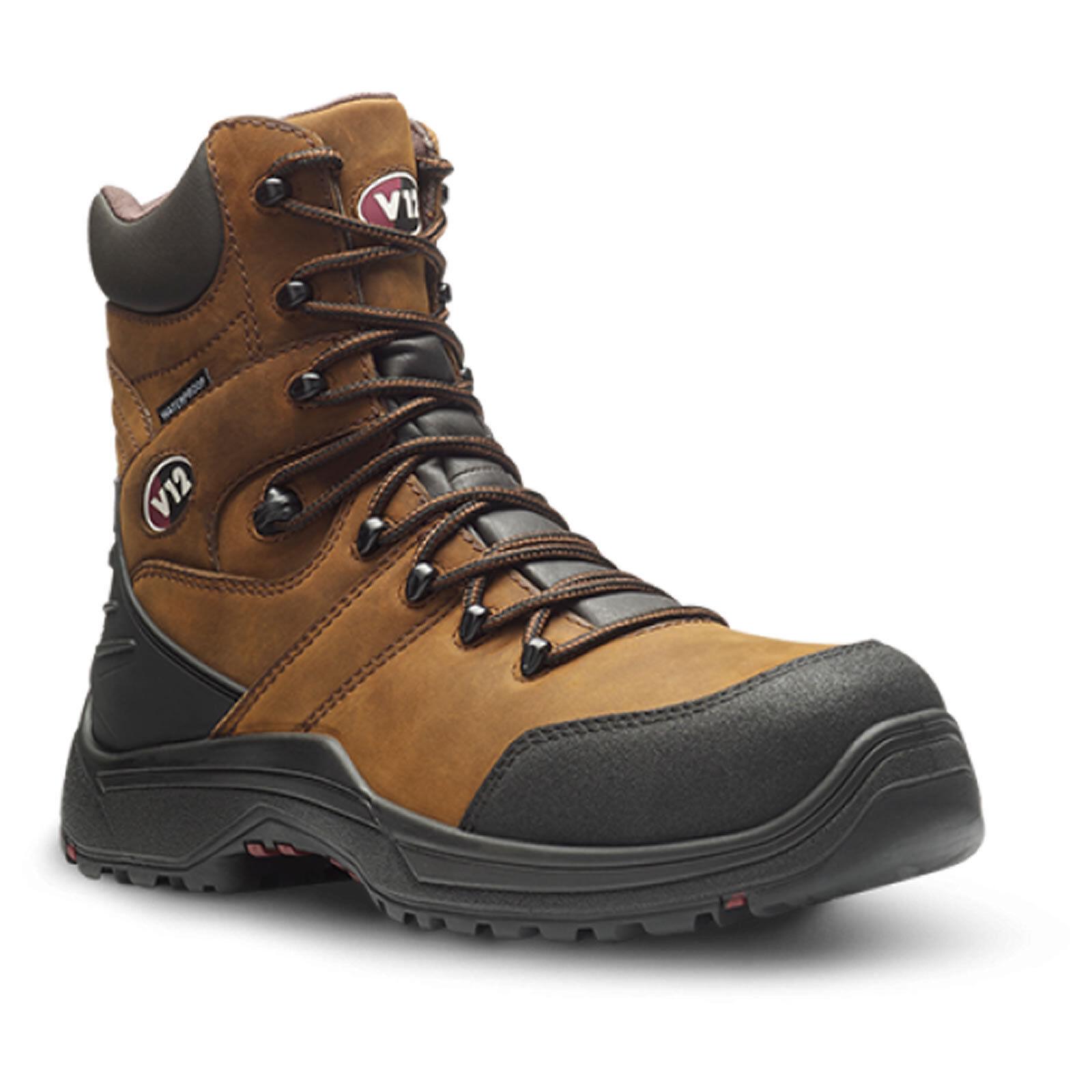 V12 V1255.01 Rocky IGS braun Waterproof Leather Work Safety Stiefel Toe Cap S3 SRC