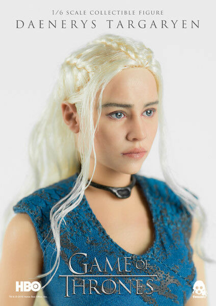 ThreeZero  Daenerys Targaryen  Game of Thrones 1:6 Scale Scale Scale Action Figure f4dee3