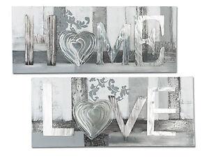 exclusiva-Disenador-Mural-Amor-con-aluminio-PLATA-100x40-cm