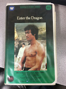 Bruce-Lee-Enter-The-Dragon-Original-VHS-release-No-tape-included