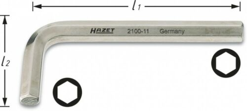 Hazet Angle Tournevis-Intérieur-Hexagonal profil 14 2100-14