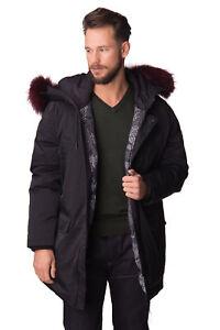 KENZO-Down-Parka-Jacket-Size-XL-Black-Canada-Goose-Raccoon-Fur-XXL-RRP-820-DG