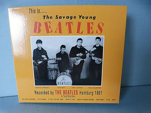 Cd : The Savage Young Beatles