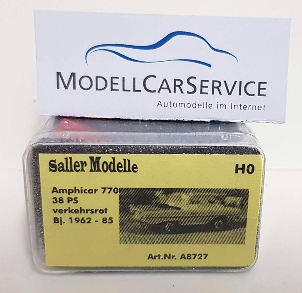Saller Modelle 1 87  A8727 Amphicar 770 (1962-85 ),