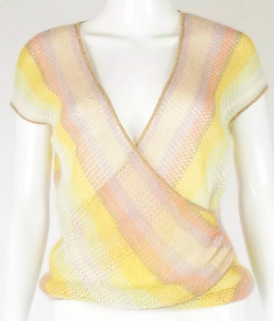 Missoni Top Orange Label Knitted Mohair NWT 850.00