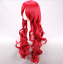 thumbnail 3 - Glamour Women Girls Long Wavy Curly Red Heat Resistant Hair Wig +a wig Cap