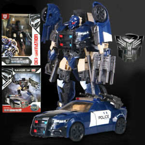 transformers 5 the last knight barricade action figure ko version police car toy ebay. Black Bedroom Furniture Sets. Home Design Ideas