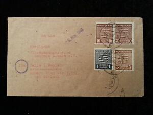Deutschland-Alliierte-Besetzung-1946-Brief-von-Halle-Sachsen-Anhalt