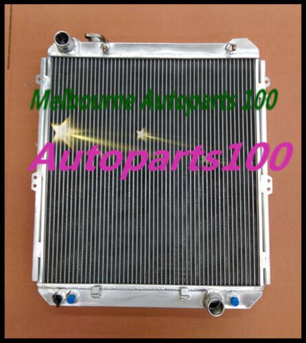 Aluminum radiator for TOYOTA HILUX SURF KZN130 1KZ-TE AT//MT 1993 1994 1995 1996
