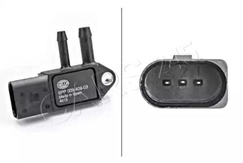 HELLA Differenzdruck Abgasdruck Sensor Für AUDI VW SEAT SKODA A4 A5 07Z906051B