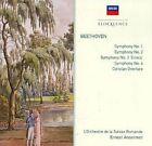 Symphonies 1-4 - Coriolan Overture Ansermet Audio CD