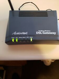 Drivers Update: Actiontec CenturyLink GT701-WG Router