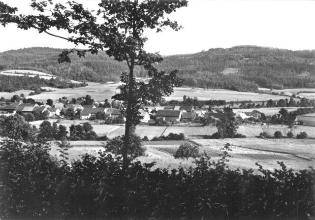 AK, Burkheim Ofr., Gesamtansicht, 1964