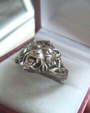 UNUSUAL Vintage Silver Lion or similar Ring  c.1960/70s   -  size U