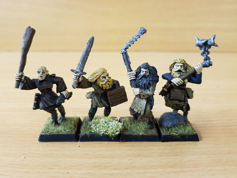 MORDHEIM Witch Hunters 2 x Flagellants & 2 x Zealots Pro painted Freeguild OOP