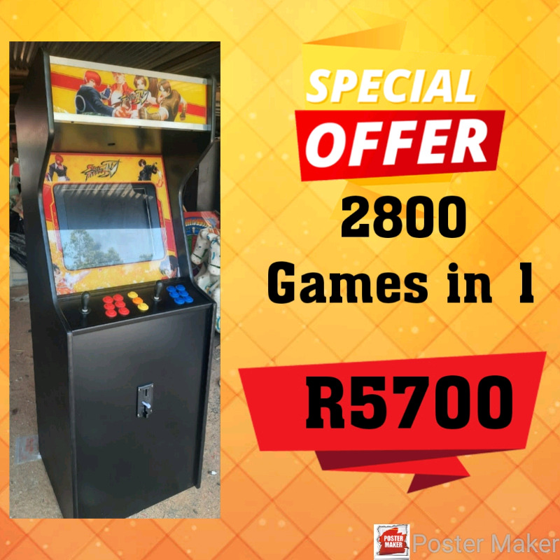 New Arcade Game : 2800 Games in 1