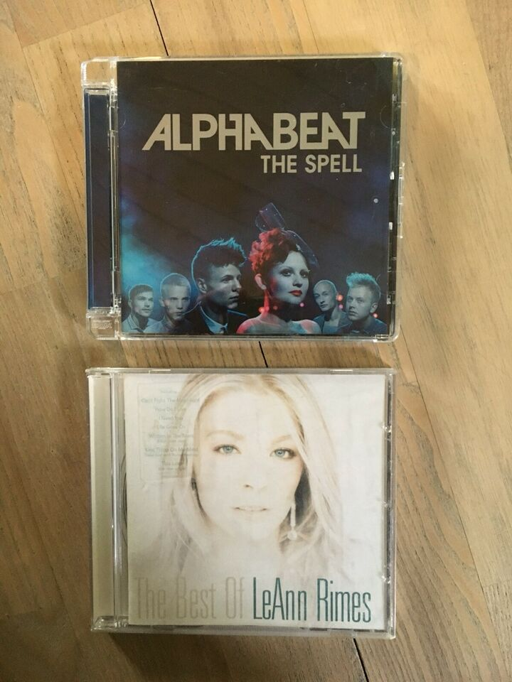Alphabeat/leAnn Rimes: Diverse, pop