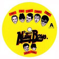 Madness record label sticker. Return Of The Los Palmas 7. Stiff Records. 2 Tone.